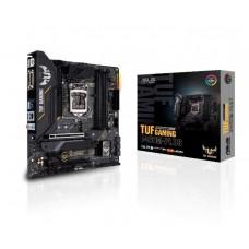 Mainboard|ASUS|Intel B460 Express|LGA1200|MicroATX|1xPCI-Express 3.0 1x|2xPCI-Express 3.0 16x|2xM.2|Memory DDR4|Memory slots 4|1xDVI|1xHDMI|1xDisplayPort|2xUSB 2.0|4xUSB 3.2|1xPS/2|1xRJ45|3xAudio port|TUFGAMB460M-PLUS