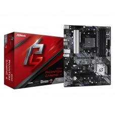Mainboard|ASROCK|AMD B550|SAM4|ATX|2xPCI-Express 3.0 1x|1xPCI-Express 3.0 4x|2xM.2|1xPCI-Express 4.0 16x|Memory DDR4|Memory slots 4|1xHDMI|2xAudio-In|1xAudio-Out|6xUSB 3.2|1xPS/2|1xRJ45|B550PHANTOMGAMING4