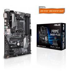Mainboard|ASUS|AMD B450|SAM4|ATX|3xPCI-Express 2.0 1x|1xPCI-Express 3.0 16x|1xM.2|Memory DDR4|Memory slots 4|1xDVI|1xHDMI|2xUSB 2.0|4xUSB 3.1|1xUSB type C|1xPS/2|1xRJ45|3xAudio port|PRIMEB450-PLUS
