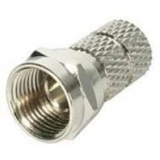 CONNECTOR F TYPE RG59 22MM/WTYKFRG59 GENWAY
