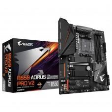 Mainboard|GIGABYTE|AMD B550|SAM4|ATX|2xPCI-Express 3.0 1x|1xPCI-Express 3.0 2x|1xPCI-Express 3.0 4x|1xPCI-Express 4.0 16x|2xM.2|Memory DDR4|Memory slots 4|1xHDMI|2xAudio-In|3xAudio-Out|6xUSB 2.0|1xUSB type C|4xUSB 3.2|1xOptical S/PDIF|1xRJ45|B550AORUSPROV