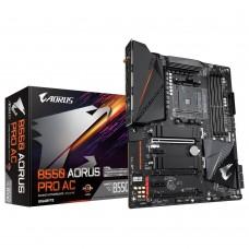 Mainboard|GIGABYTE|AMD B550|SAM4|ATX|2xPCI-Express 1x|3xPCI-Express 16x|2xM.2|Memory DDR4|Memory slots 4|1xHDMI|6xUSB 2.0|1xUSB type C|5xUSB 3.2|1xOptical S/PDIF|1xRJ45|5xAudio port|B550AORUSPROAC