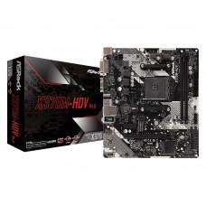 Mainboard|ASROCK|AMD X370|SAM4|MicroATX|1xPCI-Express 2.0 1x|1xPCI-Express 3.0 16x|1xM.2|Memory DDR4|Memory slots 2|1x15pin D-sub|1xDVI|1xHDMI|2xUSB 2.0|4xUSB 3.1|1xPS/2|1xRJ45|3xAudio port|X370M-HDVR4.0