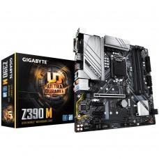 Mainboard|GIGABYTE|Intel Z390 Express|LGA1151|MicroATX|2xPCI-Express 1x|2xPCI-Express 16x|2xM.2|Memory DDR4|Memory slots 4|1xDVI|1xHDMI|1xDisplayPort|2xUSB 2.0|3xUSB 3.1|1xUSB type C|1xPS/2|1xRJ45|6xAudio port|Z390M