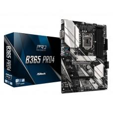 Mainboard ASROCK Intel B365 Express LGA1151 ATX 2xPCI-Express 3.0 1x 2xPCI-Express 3.0 16x 2xM.2 Memory DDR4 Memory slots 4 1x15pin D-sub 1xDVI 1xHDMI 2xUSB 2.0 5xUSB 3.1 1xUSB type C 1xPS/2 1xRJ45 3xAudio port B365PRO4