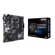 Mainboard ASUS AMD B550 SAM4 ATX 3xPCI-Express 3.0 1x 1xPCI-Express 3.0 16x 2xM.2 1xPCI-Express 4.0 16x Memory DDR4 Memory slots 4 1xHDMI 1xDisplayPort 2xUSB 2.0 1xUSB type C 5xUSB 3.2 1xOptical S/PDIF 1xRJ45 5xAudio port PRIMEB550-PLUS