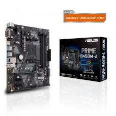 Mainboard|ASUS|AMD B450|SAM4|MicroATX|2xPCI-Express 2.0 1x|1xPCI-Express 3.0 16x|1xM.2|Memory DDR4|Memory slots 4|1x15pin D-sub|1xDVI|1xHDMI|6xUSB 3.1|2xPS/2|1xRJ45|3xAudio port|PRIMEB450M-A
