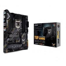 Mainboard|ASUS|Intel B460 Express|LGA1200|ATX|3xPCI-Express 3.0 1x|2xPCI-Express 3.0 16x|2xM.2|Memory DDR4|Memory slots 4|1xHDMI|1xDisplayPort|6xUSB 3.2|1xPS/2|1xRJ45|6xAudio port|TUFGAMINGB460-PLUS