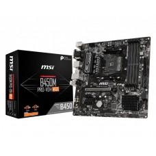 Mainboard MSI AMD B450 SAM4 MicroATX 2xPCI-Express 2.0 1x 1xPCI-Express 3.0 16x 1xM.2 Memory DDR4 Memory slots 4 1x15pin D-sub 1xDVI 1xHDMI 4xUSB 2.0 4xUSB 3.2 1xPS/2 1xRJ45 3xAudio port B450MPRO-VDHMAX