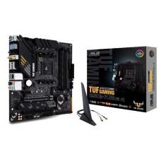 Mainboard ASUS AMD B550 SAM4 MicroATX 1xPCI-Express 3.0 1x 1xPCI-Express 3.0 16x 2xM.2 1xPCI-Express 4.0 16x Memory DDR4 Memory slots 4 1xHDMI 1xDisplayPort 2xUSB 2.0 1xUSB type C 5xUSB 3.2 1xPS/2 1xOptical S/PDIF 1xRJ45 5xAudio port TUFGAMB550M-PLUS(WI-F