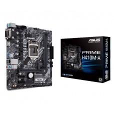Mainboard ASUS Intel H410 Express LGA1200 MicroATX 2xPCI-Express 3.0 1x 1xPCI-Express 3.0 16x 1xM.2 Memory DDR4 Memory slots 2 1x15pin D-sub 1xDVI 1xHDMI 2xUSB 2.0 2xUSB 3.2 2xPS/2 1xRJ45 3xAudio port PRIMEH410M-A