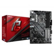 Mainboard ASROCK LGA1200 ATX 2xPCI-Express 3.0 1x 2xPCI-Express 3.0 16x 1xM.2 Memory DDR4 Memory slots 4 1xHDMI 2xAudio-In 1xAudio-Out 2xUSB 2.0 4xUSB 3.2 1xPS/2 1xRJ45 B460PHANTOMGAMING4