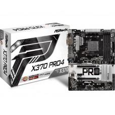 Mainboard|ASROCK|AMD X370|SAM4|ATX|4xPCI-Express 2.0 1x|2xPCI-Express 3.0 16x|1xM.2|Memory DDR4|Memory slots 4|1x15pin D-sub|1xDVI|1xHDMI|1xAudio-In|1xAudio-Out|1xMicrophone|2xUSB 2.0|5xUSB 3.1|1xUSB type C|1xPS/2|1xRJ45|X370PRO4
