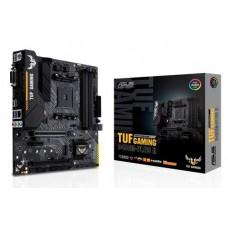 Mainboard|ASUS|AMD B450|SAM4|MicroATX|1xPCI-Express 2.0 1x|1xPCI-Express 2.0 4x|1xPCI-Express 3.0 16x|1xM.2|Memory DDR4|Memory slots 4|1xDVI|1xHDMI|2xAudio-In|1xAudio-Out|2xUSB 2.0|1xUSB type C|3xUSB 3.2|1xPS/2|1xRJ45|TUFGAMINGB450M-PLUSII