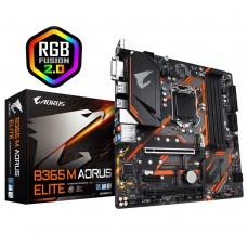 Mainboard GIGABYTE Intel B365 Express LGA1151 MicroATX 1xPCI-Express 1x 2xPCI-Express 16x 2xM.2 Memory DDR4 Memory slots 4 1xDVI 1xHDMI 1xDisplayPort 2xUSB 2.0 3xUSB 3.1 1xUSB type C 1xPS/2 1xRJ45 6xAudio port B365MAORUSELITE