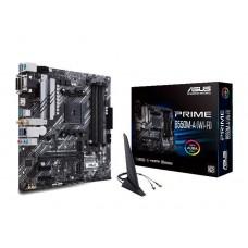 Mainboard|ASUS|AMD B550|SAM4|MicroATX|2xPCI-Express 3.0 1x|2xM.2|1xPCI-Express 4.0 16x|Memory DDR4|Memory slots 4|1x15pin D-sub|1xDVI|1xHDMI|6xUSB 3.2|1xPS/2|1xRJ45|3xAudio port|PRIMEB550M-A(WI-FI)