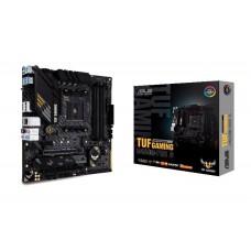 Mainboard|ASUS|AMD B450|SAM4|MicroATX|1xPCI-Express 2.0 1x|1xPCI-Express 2.0 16x|1xPCI-Express 3.0 16x|2xM.2|Memory DDR4|Memory slots 4|1xHDMI|1xDisplayPort|2xUSB 2.0|1xUSB type C|5xUSB 3.2|1xPS/2|1xOptical S/PDIF|1xRJ45|5xAudio port|TUFGAMINGB450M-PROS