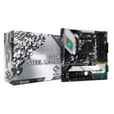 Mainboard|ASROCK|AMD B550|SAM4|MicroATX|1xPCI-Express 3.0 1x|1xPCI-Express 3.0 4x|1xM.2|1xPCI-Express 4.0 16x|Memory DDR4|Memory slots 4|1xHDMI|1xDisplayPort|2xAudio-In|3xAudio-Out|2xUSB 2.0|1xUSB type C|5xUSB 3.2|1xPS/2|1xOptical S/PDIF|1xRJ45|B550MSTEEL