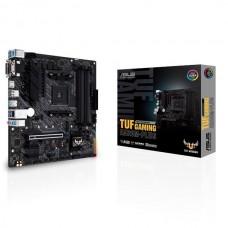 Mainboard|ASUS|AMD A520|SAM4|MicroATX|2xPCI-Express 3.0 1x|1xPCI-Express 3.0 16x|1xM.2|Memory DDR4|Memory slots 4|1x15pin D-sub|1xDVI|1xHDMI|2xUSB 2.0|5xUSB 3.2 type B|1xPS/2|3xStereo jack 3.5mm|1xRJ45|TUFGAMINGA520M-PLUS