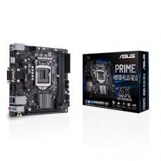 Mainboard ASUS Intel H310 Express LGA1151 MiniITX 1xPCI-Express 3.0 16x 1xM.2 Memory DDR4 Memory slots 2 1x15pin D-sub 1xDVI 1xHDMI 2xUSB 2.0 2xUSB 3.1 1xRJ45 3xAudio port PRIMEH310I-PLUSR2.0