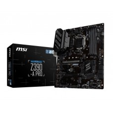Mainboard|MSI|Intel Z390 Express|LGA1151|ATX|4xPCI-Express 3.0 1x|2xPCI-Express 3.0 16x|1xM.2|Memory DDR4|Memory slots 4|1x15pin D-sub|1xDVI|1xDisplayPort|2xUSB 2.0|3xUSB 3.1|1xUSB type C|1xPS/2|1xRJ45|6xAudio port|Z390-APRO
