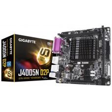 Mainboard|GIGABYTE|MiniITX|1xPCI-Express 16x|1xM.2|Memory DDR4|Memory slots 2|1x15pin D-sub|1xHDMI|1xAudio-In|1xAudio-Out|1xMicrophone|4xUSB 3.1|1xParallel|1xCOM|1xRJ45|Built-in CPU model Celeron J4005|J4005ND2P