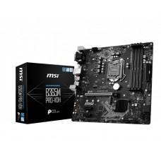 Mainboard|MSI|Intel B365 Express|LGA1151|MicroATX|2xPCI-Express 3.0 1x|1xPCI-Express 3.0 16x|1xM.2|Memory DDR4|Memory slots 4|1x15pin D-sub|1xDVI|1xHDMI|3xUSB 3.1|1xUSB type C|2xPS/2|1xRJ45|3xAudio port|B365MPRO-VDH