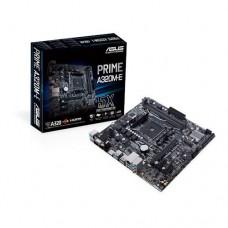 Mainboard|ASUS|AMD A320|SAM4|MicroATX|2xPCI-Express 2.0 1x|2xPCI-Express 3.0 16x|1xM.2|Memory DDR4|Memory slots 2|1x15pin D-sub|1xDVI|1xHDMI|1xAudio-In|1xAudio-Out|1xMicrophone|5xUSB 3.1|2xPS/2|1xRJ45|PRIMEA320M-E