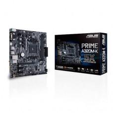 Mainboard|ASUS|AMD A320|SAM4|MicroATX|2xPCI-Express 2.0 1x|1xPCI-Express 3.0 16x|1xM.2|Memory DDR4|Memory slots 2|1x15pin D-sub|1xHDMI|2xUSB 2.0|4xUSB 3.0|2xPS/2|1xRJ45|3xAudio port|PRIMEA320M-K