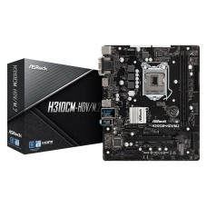 Mainboard|ASROCK|Intel H310 Express|LGA1151|MicroATX|Memory DDR4|Memory slots 2|1x15pin D-sub|1xDVI|1xAudio-In|1xAudio-Out|1xMicrophone|4xUSB 2.0|2xUSB 3.1|1xPS/2|1xRJ45|H310CM-HDV/M.2