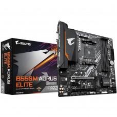 Mainboard|GIGABYTE|AMD B550|SAM4|MicroATX|1xPCI-Express 3.0 1x|1xPCI-Express 3.0 4x|1xPCI-Express 3.0 16x|2xM.2|Memory DDR4|Memory slots 4|1xDVI|1xHDMI|2xAudio-In|1xAudio-Out|1xUSB 3.1|4xUSB 3.2|1xPS/2|1xRJ45|B550MAORUSELITE