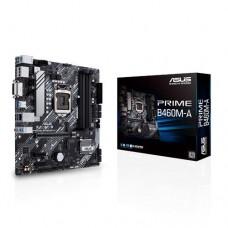 Mainboard|ASUS|Intel B460 Express|LGA1200|MicroATX|2xPCI-Express 3.0 1x|1xPCI-Express 3.0 16x|2xM.2|Memory DDR4|Memory slots 4|1xDVI|1xHDMI|1xDisplayPort|2xUSB 2.0|4xUSB 3.2|1xRJ45|3xAudio port|PRIMEB460M-A
