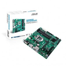Mainboard ASUS Intel B360 Express LGA1151 MicroATX 1xPCI 2xPCI-Express 3.0 1x 1xPCI-Express 3.0 16x 1xM.2 Memory DDR4 Memory slots 4 1x15pin D-sub 1xHDMI 2xDisplayPort 1xAudio-In 1xAudio-Out 1xMicrophone 2xUSB 2.0 4xUSB 3.1 2xPS/2 1xRJ45 PRIMEB360M-C