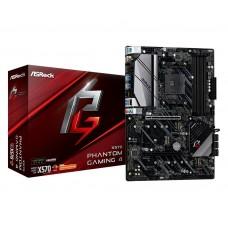 Mainboard|ASROCK|AMD X570|SAM4|ATX|2xPCI-Express 1x|2xPCI-Express 16x|1xM.2|Memory DDR4|Memory slots 4|1xHDMI|1xDisplayPort|8xUSB 3.2|1xPS/2|1xRJ45|3xAudio port|X570PHANTOMGAMING4