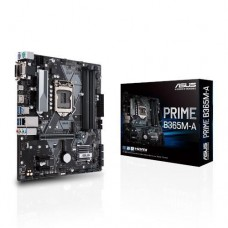 Mainboard|ASUS|Intel B365 Express|LGA1151|MicroATX|2xPCI-Express 3.0 1x|1xPCI-Express 3.0 16x|2xM.2|Memory DDR4|Memory slots 4|1x15pin D-sub|1xDVI|1xHDMI|4xUSB 3.1|1xUSB type C|2xPS/2|1xRJ45|3xAudio port|PRIMEB365M-A