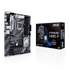 Mainboard ASUS Intel Z490 Express LGA1200 ATX 4xPCI-Express 3.0 1x 2xPCI-Express 3.0 16x 2xM.2 Memory DDR4 Memory slots 4 1xHDMI 1xDisplayPort 2xUSB 2.0 4xUSB 3.2 1xPS/2 1xOptical S/PDIF 1xRJ45 5xAudio port PRIMEZ490-P