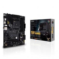 Mainboard ASUS AMD B550 SAM4 ATX 3xPCI-Express 3.0 1x 1xPCI-Express 3.0 4x 1xPCI-Express 4.0 16x 2xM.2 Memory DDR4 Memory slots 4 1xHDMI 1xDisplayPort 2xAudio-In 3xAudio-Out 2xUSB 2.0 1xUSB type C 5xUSB 3.2 1xOptical S/PDIF 1xRJ45 TUFGAMINGB550-PRO