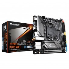 Mainboard GIGABYTE Intel Z390 Express LGA1151 MiniITX 1xPCI-Express 16x 2xM.2 Memory DDR4 Memory slots 2 1xHDMI 1xDisplayPort 5xUSB 3.1 1xUSB type C 1xOptical S/PDIF 1xRJ45 5xAudio port Z390IAORUSPROWIFI
