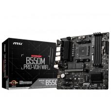Mainboard|MSI|AMD B550|SAM4|MicroATX|2xPCI-Express 3.0 1x|2xM.2|1xPCI-Express 4.0 16x|Memory DDR4|Memory slots 4|1x15pin D-sub|1xHDMI|1xDisplayPort|2xUSB 2.0|4xUSB 3.2|1xPS/2|1xRJ45|3xAudio port|B550MPRO-VDHWIFI