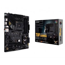 Mainboard ASUS AMD B550 SAM4 ATX 3xPCI-Express 3.0 1x 1xPCI-Express 3.0 16x 2xM.2 1xPCI-Express 4.0 16x Memory DDR4 Memory slots 4 1xHDMI 1xDisplayPort 1xUSB type C 5xUSB 3.2 1xOptical S/PDIF 1xRJ45 5xAudio port TUFGAMINGB550-PLUS