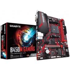 Mainboard|GIGABYTE|AMD B450|SAM4|MicroATX|2xPCI-Express 1x|1xPCI-Express 16x|1xM.2|Memory DDR4|Memory slots 2|1x15pin D-sub|1xDVI|1xHDMI|2xUSB 2.0|4xUSB 3.1|2xPS/2|1xRJ45|3xAudio port|B450MGAMING