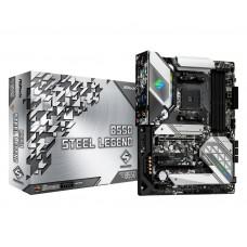 Mainboard|ASROCK|AMD B550|LGA1200|ATX|2xPCI-Express 3.0 1x|1xPCI-Express 3.0 4x|1xM.2|1xPCI-Express 4.0 16x|Memory DDR4|Memory slots 4|1xHDMI|1xDisplayPort|2xAudio-In|3xAudio-Out|4xUSB 2.0|1xUSB type C|3xUSB 3.2|1xPS/2|1xOptical S/PDIF|1xRJ45|B550STEELLEG