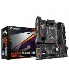 Mainboard|GIGABYTE|Intel B460 Express|LGA1200|MicroATX|1xPCI-Express 1x|2xPCI-Express 16x|2xM.2|Memory DDR4|Memory slots 4|1xDVI|1xHDMI|1xDisplayPort|2xUSB 2.0|1xUSB type C|3xUSB 3.2|1xPS/2|1xRJ45|6xAudio port|B460MAORUSPRO