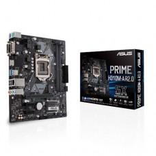 Mainboard|ASUS|Intel H310 Express|LGA1151|MicroATX|2xPCI-Express 2.0 1x|1xPCI-Express 3.0 16x|Memory DDR4|Memory slots 2|1x15pin D-sub|1xDVI|1xHDMI|1xAudio-In|1xAudio-Out|1xMicrophone|2xUSB 2.0|2xUSB 3.1|2xPS/2|1xRJ45|PRIMEH310M-AR2.0