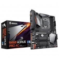 Mainboard GIGABYTE Intel B460 Express LGA1200 ATX 3xPCI-Express 1x 2xPCI-Express 16x 2xM.2 Memory DDR4 Memory slots 4 1xHDMI 1xDisplayPort 2xUSB 2.0 1xUSB type C 5xUSB 3.2 1xPS/2 1xRJ45 6xAudio port B460AORUSPROAC