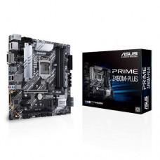 Mainboard ASUS Intel Z490 Express LGA1200 MicroATX 2xPCI-Express 3.0 1x 2xPCI-Express 3.0 16x 2xM.2 Memory DDR4 Memory slots 4 1xDVI 1xHDMI 1xDisplayPort 2xUSB 2.0 1xUSB type C 3xUSB 3.2 1xPS/2 1xRJ45 3xAudio port PRIMEZ490M-PLUS