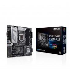 Mainboard ASUS Intel Z590 Express LGA1200 MicroATX 2xPCI-Express 3.0 1x 1xPCI-Express 3.0 4x 1xPCI-Express 4.0 16x 3xM.2 Memory DDR4 Memory slots 4 1xDVI 1xHDMI 1xDisplayPort 2xAudio-In 1xAudio-Out 4xUSB 2.0 1xUSB type C 3xUSB 3.2 1xRJ45 PRIMEZ590M-PLUS