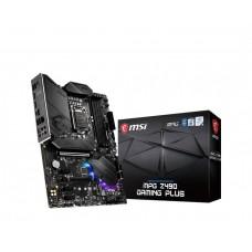 Mainboard MSI Intel Z490 Express LGA1200 ATX 3xPCI-Express 3.0 1x 2xPCI-Express 3.0 16x 2xM.2 Memory DDR4 Memory slots 4 1xHDMI 1xDisplayPort 2xUSB 2.0 1xUSB type C 3xUSB 3.2 1xPS/2 1xOptical S/PDIF 1xRJ45 5xAudio port MPGZ490GAMINGPLUS