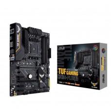 Mainboard|ASUS|AMD B450|SAM4|ATX|3xPCI-Express 2.0 1x|1xPCI-Express 2.0 4x|1xPCI-Express 3.0 16x|2xM.2|Memory DDR4|Memory slots 4|1xHDMI|1xDisplayPort|2xAudio-In|3xAudio-Out|2xUSB 2.0|1xUSB type C|5xUSB 3.2|1xRJ45|TUFGAMINGB450-PLUSII
