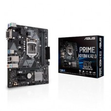 Mainboard|ASUS|Intel H310 Express|LGA1151|MicroATX|2xPCI-Express 2.0 1x|1xPCI-Express 3.0 16x|Memory DDR4|Memory slots 2|1x15pin D-sub|1xDVI|1xAudio-In|1xAudio-Out|1xMicrophone|2xUSB 2.0|2xUSB 3.1|2xPS/2|1xRJ45|PRIMEH310M-KR2.0